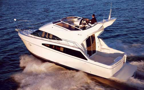 Carver Boat Repairs in and near Harrison Township Michigan