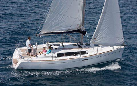 Beneteau Sailboat Repairs in and near Macomb County Michigan